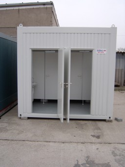 WC-Container Damen & Herren Typ WC10 Bild 2
